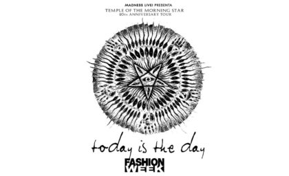 Today Is The Day + Fashion Week BeGood